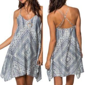 O'Neill Judd Print Swing Dress Size Medium